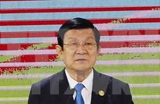 张晋创主席会见菲越友好协会主席