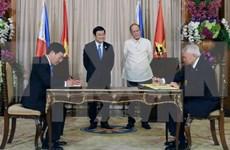越南和菲律宾发表关于建立战略伙伴关系的联合声明