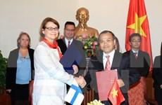 越南外交部副部长武鸿南会见芬兰外交部副部长