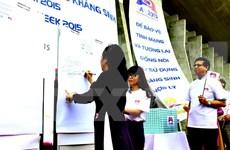 越南举行集会响应抵御抗菌素耐药性宣传周