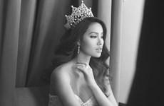 """越南环球小姐冠军范香将参加2015""""环球小姐""""选美大赛总结赛"""