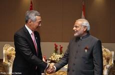 印度与新加坡建立战略伙伴关系