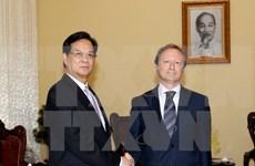 越南政府总理阮晋勇会见欧洲联盟新任驻越大使