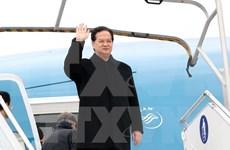 越南政府总理阮晋勇赴法国出席第21届联合国气候变化大会
