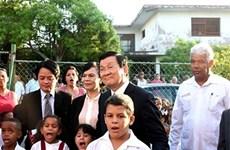 庆祝越古两国建交55周年:时代的崇高象征