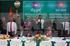 越南坚江省与柬埔寨贡布省深化友好关系