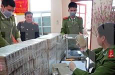 越南奠边省同老挝安全指挥部逮捕涉嫌非法贩卖毒品的5名老挝嫌疑人