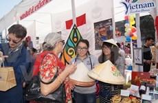 越南参加在印度举行的慈善义卖活动