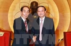 致力深化越南国会与日本参议院之间的务实合作