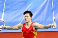 2015年丰田杯:邓南夺得吊环铜牌