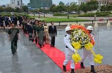 越南驻各国武官处纷纷举行人民军成立71周年纪念活动