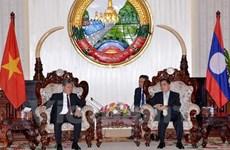 老挝领导人高度评价越老司法合作成果