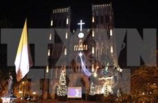 2015年圣诞节到来越南全国各地洋溢着圣诞气氛