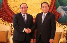 老挝领导高度重视与越南的特殊团结与合作关系