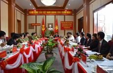 越南公安部长陈大光大将莅临广南省调研指导工作