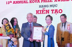 第13次克瓦奖颁奖仪式在胡志明市举行