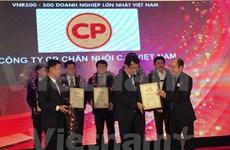 2015年越南企业500强排行榜揭晓