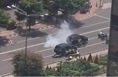 印尼首都雅加达发生多起爆炸 至少7人死亡