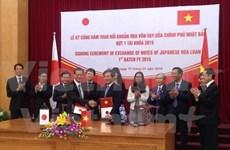 日本资助越南完善基础设施条件和保护环境