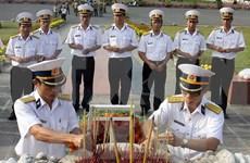 越南巴地头顿省昆仑岛举行隆重仪式缅怀各位英雄烈士