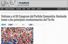 越共十二大:阿根廷媒体赞美越南共产党