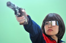 越南的12名射手参加2016年奥运会预选赛