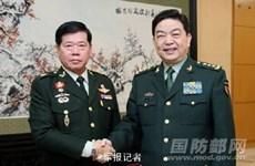 中国与泰国加强军事合作