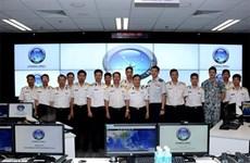 越南海军军种工作代表团访问新加坡国际航海安全信息共享中心