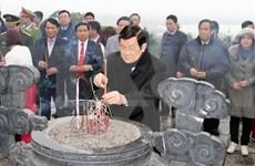 张晋创主席春节前走访慰问静省军民并拜年
