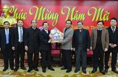 宗教界人士春节走访慰问地方政府和人民群众