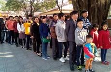 越南全国各地举行热闹非凡的游春活动