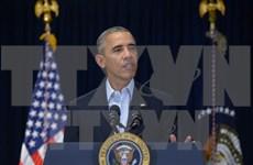 美国总统奥巴马呼吁为东海紧张局势降温