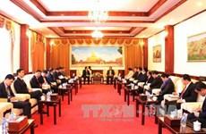 老挝人民革命党中央委员会总书记会见越共中央总书记特使