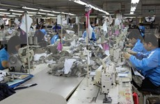 越南纺织服装业在全球价值链中的地位