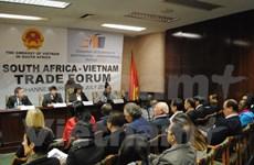 越南对南非出口额大幅增长