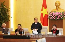 越南第十三届国会常务委员会第四十五次会议发表公报