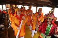 广南省把赵曲正式成为越南国家级非物质文化遗产