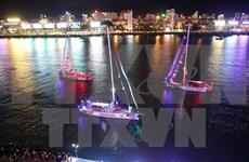 克利伯环游世界帆船赛第八赛程——越南岘港至中国青岛段启航