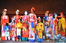 2016年越南长衣文化节   诠释越南女性之美