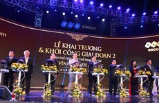 王廷惠同志出席FLC永盛度假村开业仪式