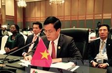 不断发挥越南在多边外交机制中的地位