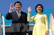 越南国家主席张晋创对坦桑尼亚进行国事访问