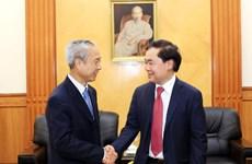 越南海防市愿与中国云南省红河州合作共促发展