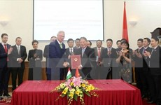 匈牙利希望推动与越南各方面的合作