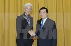 IMF希望加大同越南的合作力度