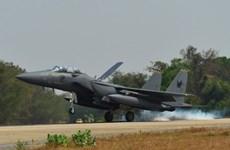 新加坡、泰国和美国的天虎三国空战军演在泰国落幕