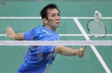 越南羽毛球运动员阮进明和武氏妆在新西兰举行的羽毛球锦标赛夺魁