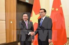 范平明副总理会见中国国务院总理李克强和俄罗斯副总理德沃尔科维奇