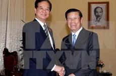 越南政府总理阮晋勇会见老挝政府副总理宋沙瓦•凌沙瓦