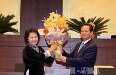 越南第十三届国会第十一次会议:国会同意免去阮晋勇的政府总理职务